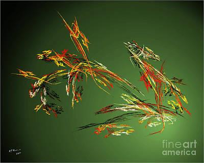Wild Flowers Art Print by Arne Hansen