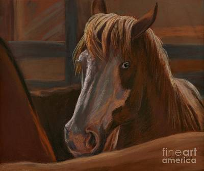 Art Print featuring the painting Wild Hearts Will Not Be Broken by Sheri Gordon