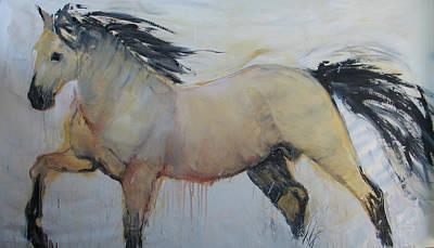 Wild Horse 1 2012 Art Print