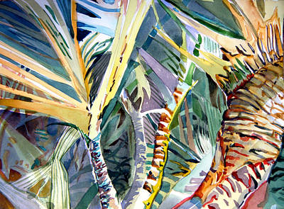 Wild Palm Original by Mindy Newman