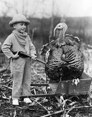 Wild Turkey Art Print by Archive Photos