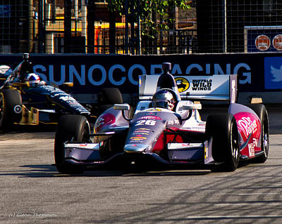 Indy Car Photograph - Wild Wings by Glenn Thompson