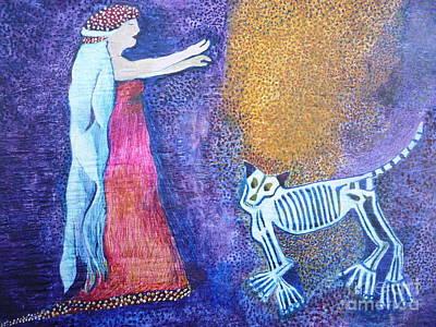 Wild Woman Art Print by Catherine Meyers