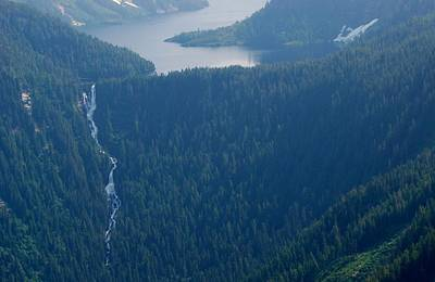 Photograph - Wilderness Waterfall by Eric Tressler