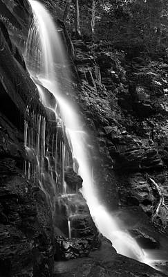 Photograph - Wilderness Waterfall Plunge by John Stephens