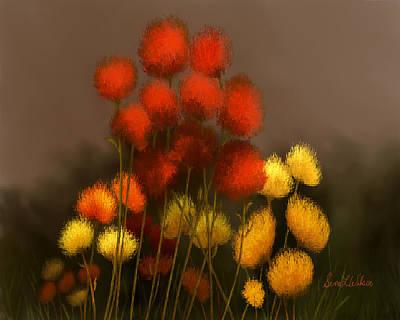 Wildflowers In Symphony Art Print