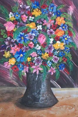 Wildflowers Art Print by Jeanette Stewart
