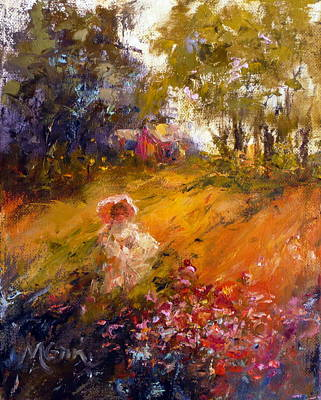 Wildflowers Art Print by Marie Green