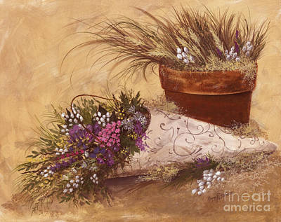 Painting - Wildflowers  by Nancy Patterson