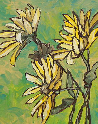 Painting - Wildflowers by Sandy Tracey
