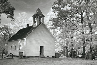Print featuring the photograph Wildwood Church by Mary Almond