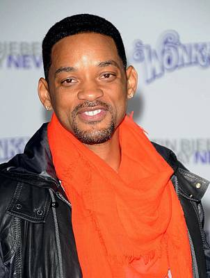 Bestofredcarpet Photograph - Will Smith At Arrivals For Justin by Everett