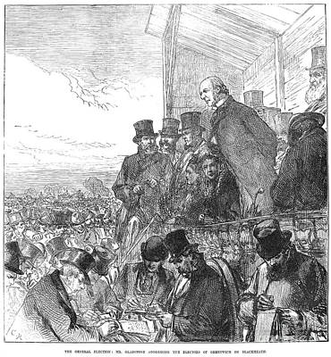 Willaim Ewart Gladstone Art Print