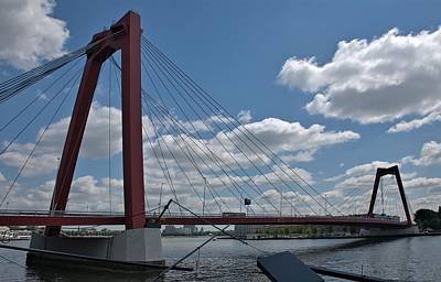 Photograph - Willemsbrug by Steven Richman