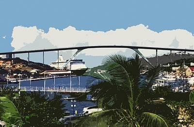Photograph - Willemstad - Curacao by Juergen Weiss