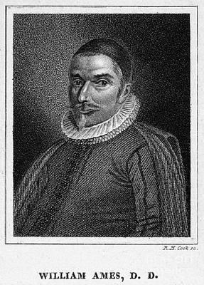 Skullcap Photograph - William Ames (1576-1633) by Granger