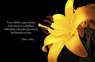 William Blake Mixed Media - William Blake Tribute by David Glotfelty