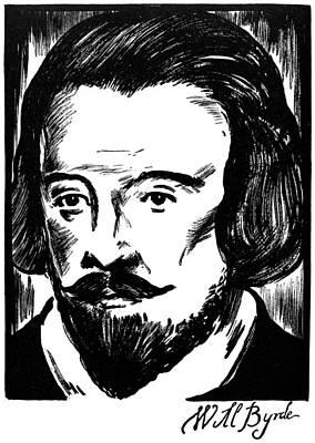 William Byrd (c1540-1623) Art Print by Granger