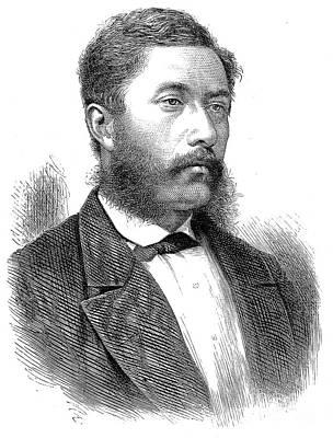 William C. Lunalilo Art Print by Granger