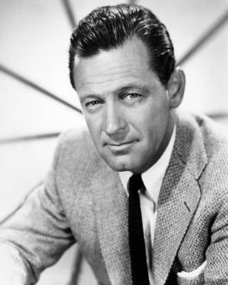 Colbw Photograph - William Holden, 1960 by Everett