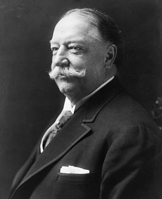 Taft Photograph - William Howard Taft - President Of The United States Of America by International  Images