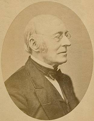 William Lloyd Garrison 1805-1879 Art Print by Everett