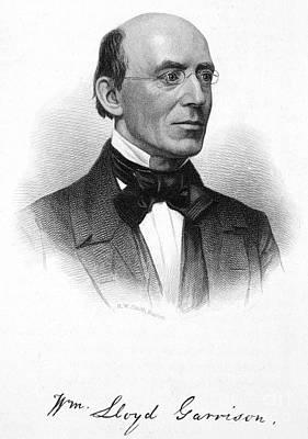 Autographed Photograph - William Lloyd Garrison by Granger