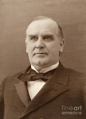 William Mckinley (1843-1901). 25th President Of The United States. Photographed In 1896 Art Print by Granger