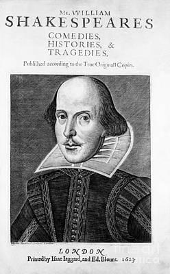 Romance Renaissance Photograph - William Shakespeare, English Poet by Omikron
