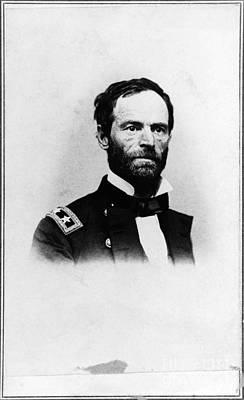 William Sherman Photograph - William Tecumseh Sherman, Union General by LOC/Photo Researchers