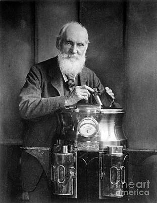 William Thomson, Lord Kelvin With His Art Print by Science Source