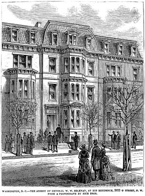 William Worth Belknap Art Print by Granger