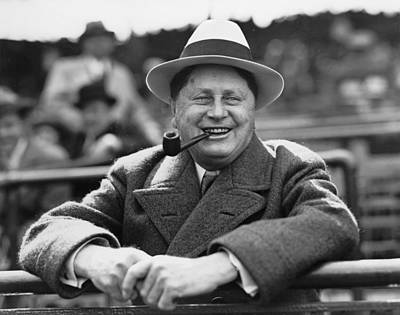 Wrigley Photograph - William Wrigley, 1861-1932, President by Everett