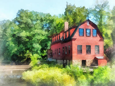 Williams-droescher  Mill Art Print by Susan Savad