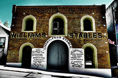 Photograph - Williams Stables by Emily Stauring
