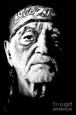 Willie Nelson Art Print by Brian Curran