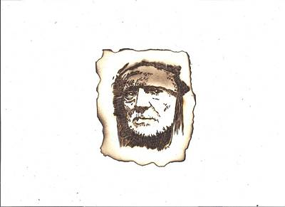 Pyrography Pyrography - Willie Nelson by Clarence Butch Martin