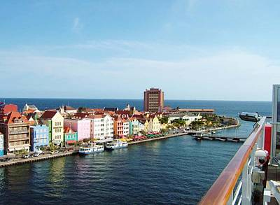 Photograph - Williemstad Curacao by Gary Wonning