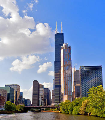 Photograph - Willis Tower Chicago by Frank Winters