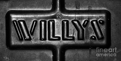 Willys Emblem Art Print by Juls Adams