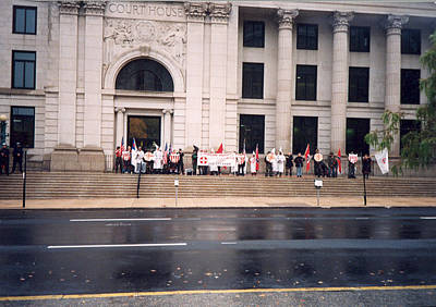 Photograph - Wilmington Delaware Ku Klux Klan by Emery Graham