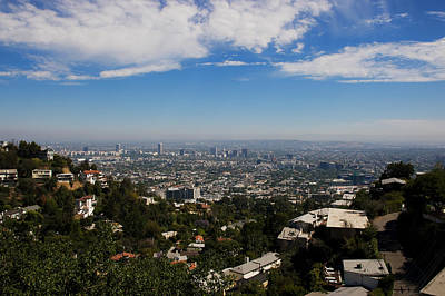 Photograph - Wilshire Skyline by Bob Park