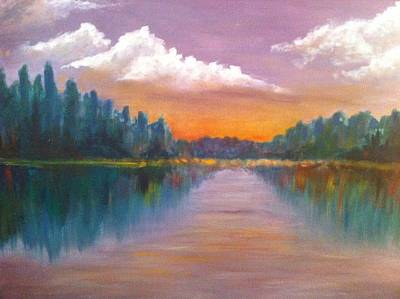 Wilson Lake  Art Print