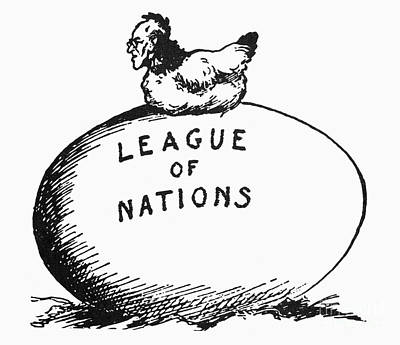 Wilson: League Of Nations Art Print by Granger