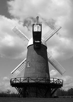 Wilton Windmill Art Print