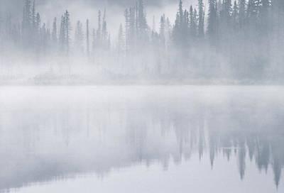 Winchell Lake, Water Valley, Alberta Art Print by Darwin Wiggett