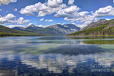 Lake Photograph - Wind And The Calm Beneath by Scotts Scapes