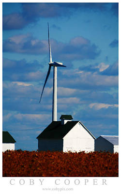 Photograph - Wind Crop by Coby Cooper