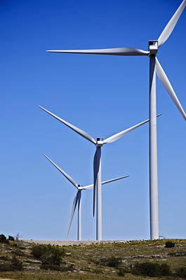 Photograph - Wind Farm I by Ricky Barnard