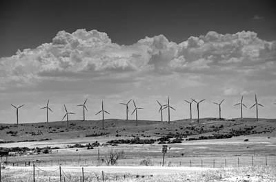 Photograph - Wind Farm II by Ricky Barnard